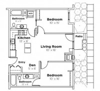 1 spot in shared Floco Fusion bedroom available 2019-2020!