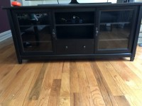 Black TV Stand/Entertainment Center