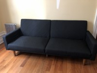 Dark Blue Futon