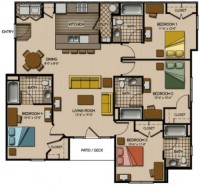 Subletting Furnished Quarry Trail Apartment (male renter)