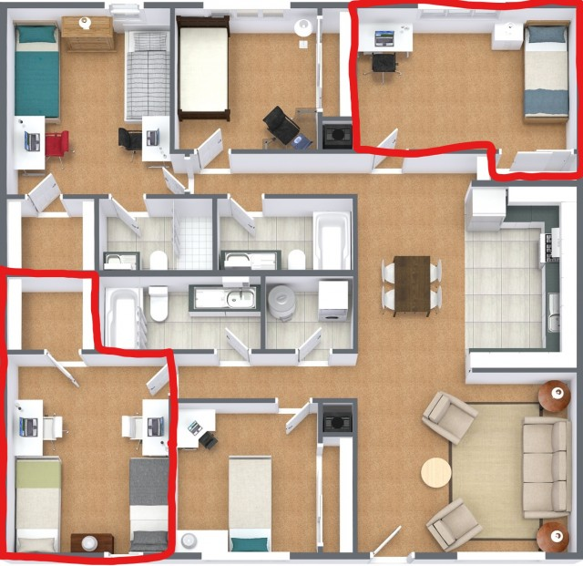 Sycamore Lane Apartments - 2 Rooms Available!
