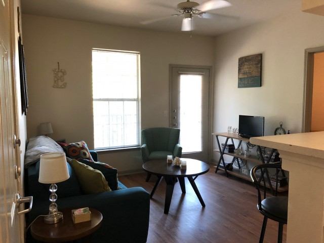1 Bedroom on campus apartment