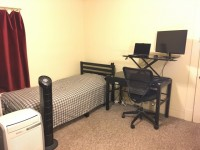 Available Now - Aug. 2019: 1-2 Rooms in 2BR/1Ba Central Campus Apt