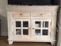 Cream TV Stand/Credenza for sale $200 or best offer