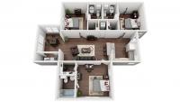 1 Bedroom/Bathroom in 3 Bedroom Apartment - University Village
