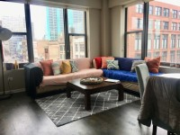 2 Br/ 2Ba Apartment Available June 1 - July 27 (South Loop)