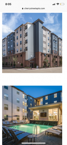 Furnished Sublease at Cherry Street Apartments