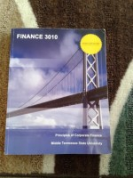 Textbook for principles of corporate finance 3010