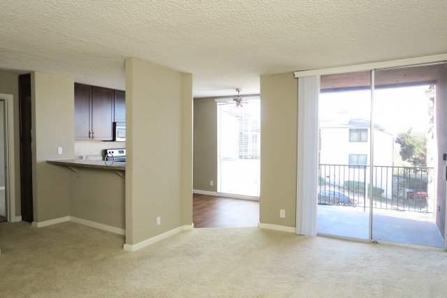 1 bed 1 bath w/Ocean View, Parking, Storage. Close to PLNU!