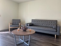 2b/1b semi-furnished apt near Ferris campus