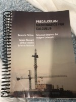 Precalculus Textbook