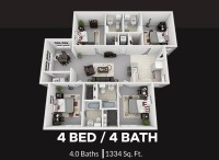 1 Bed 1 Bath Room in University Villages