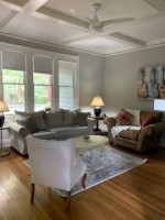 Private bedroom with shared studio in Ardsley Park Craftsman, utilities included!