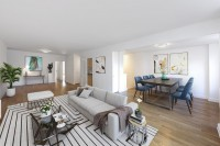 WEST RIVER HOUSE - A full service, 24-hour luxury doorman building. Large Conv 2 Bed, 2 Bath w.Private Terrace. NO FEE. Pets Welcome. OPEN HOUSE THUR 12:30-5 & SAT/SUN 11-2 BY APPT ONLY