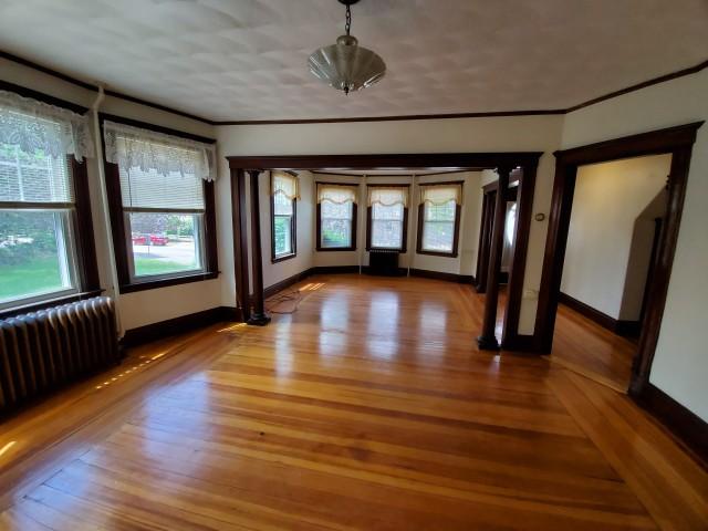 5 Bedroom in front of Quincy Adams Station (Red Line)