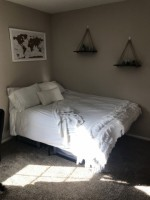 1 bedroom sublease in a 4 bedroom apartment