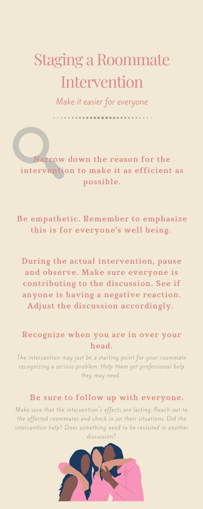 Roommate Tips: Staging A Roommate Intervention