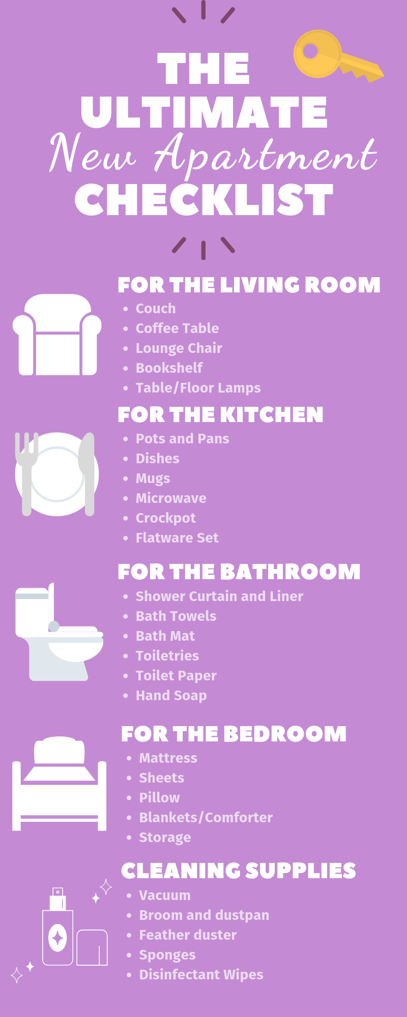 Roommate Tips: The Ultimate New Apartment Checklist